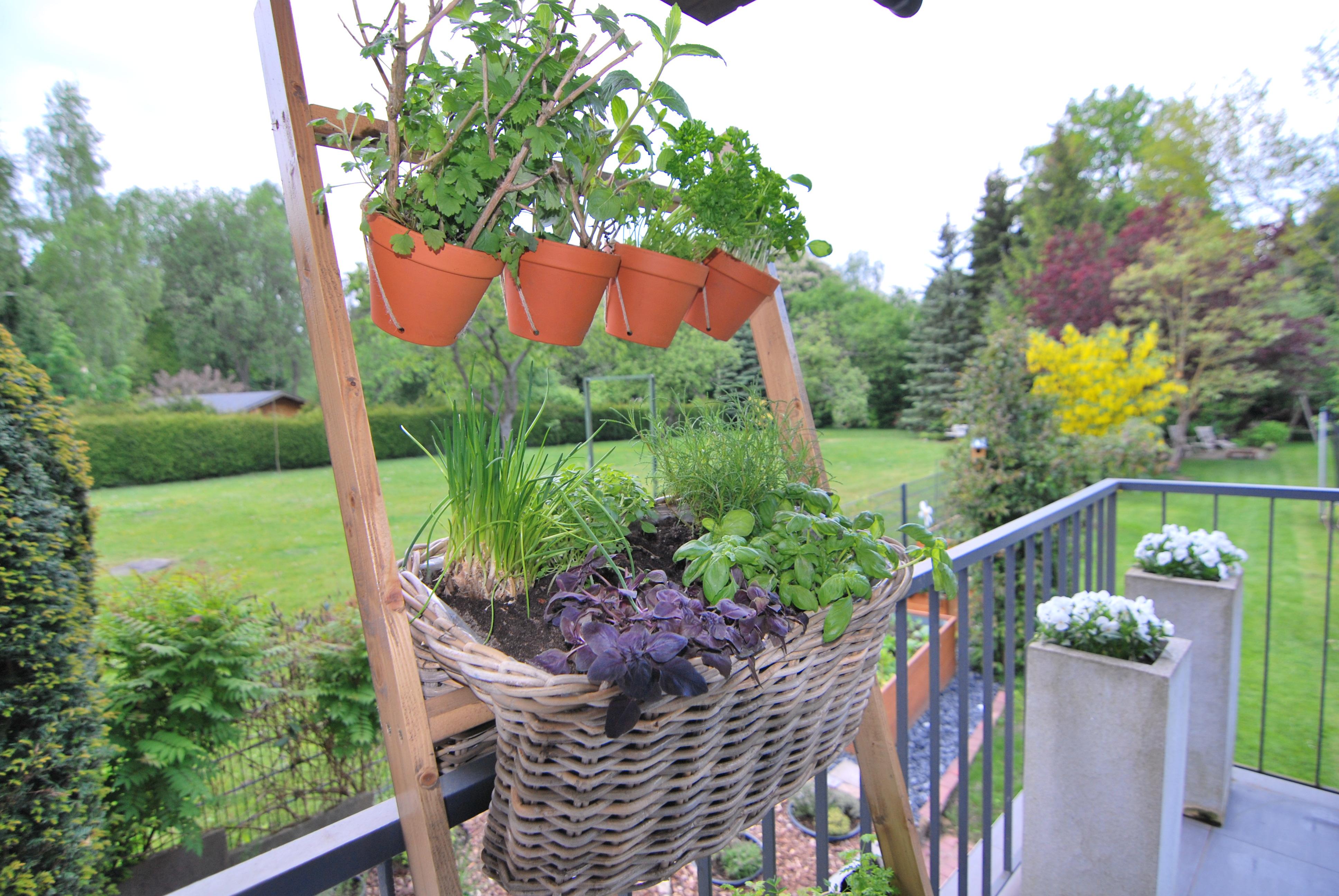 kräuterleiter | neuland, Gartengerate ideen